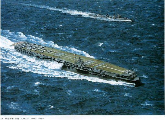 IJN Aircraft Carrier Zuikaku  | IJN Aircraft Carriers #12