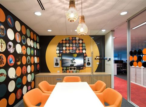 Creative Office Design Bbc Worldwide Meeting Room Agency Office