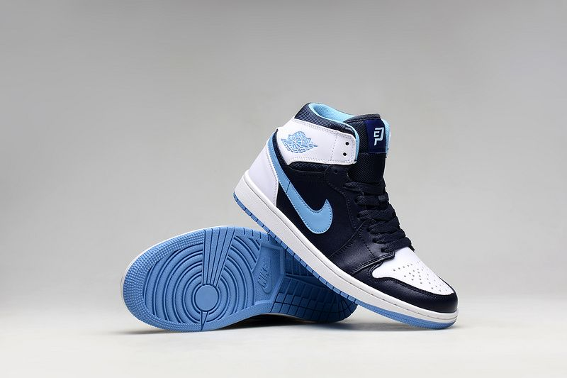 new concept a49a3 2a2cd Air Jordan 1 Retro Chris Paul CP3 Black Legend Blue White Black Hot Sale