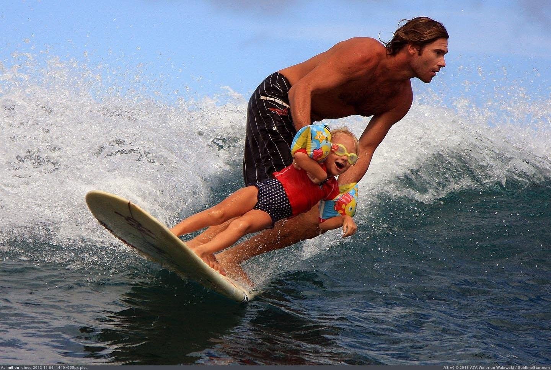 padre surfista