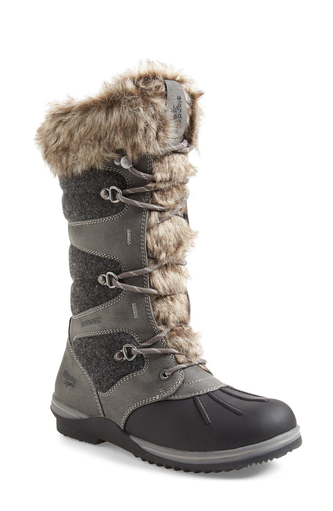 Winter boots women, Waterproof snow boots