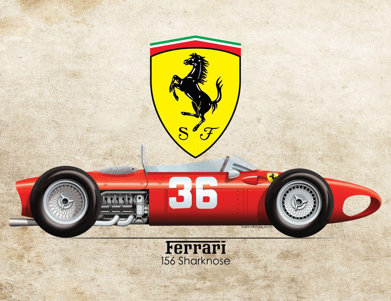 Vintage Formula Series By RedlineStudiosdm On Etsy Vintage - Minimal formula 1 posters jason walley