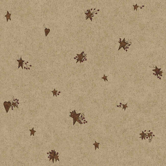 Interior Place Taupe Maroon Cb5666 Tin Star And Heart