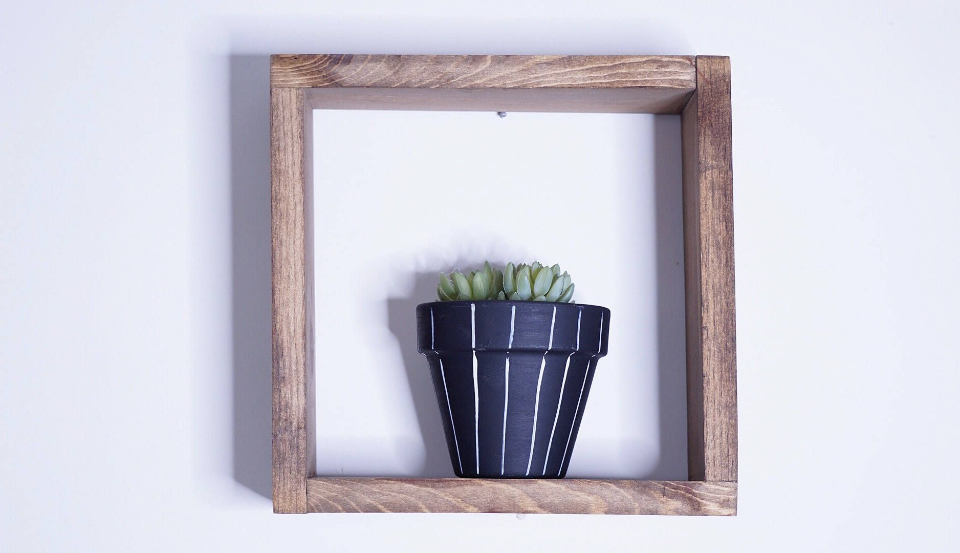 Box Shelf / Square Shelf / Diamond shelf Wall decor Box