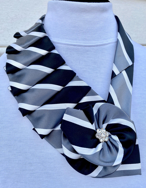 Repurposed Silk Vintage Necktie Gift Unique Tie Art Rare Find Statement Necklace Necktie Collar Necklace Business Fashion
