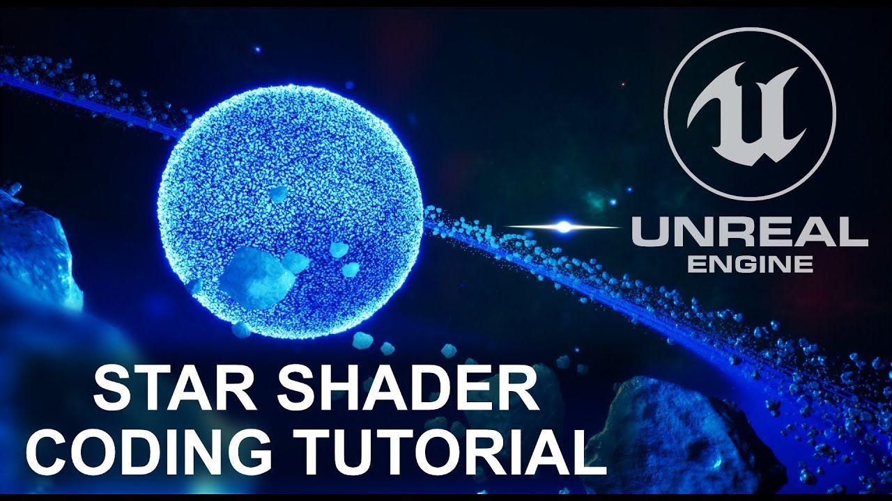 Tutorial Star / Sun Shader inside Unreal Engine in 2020