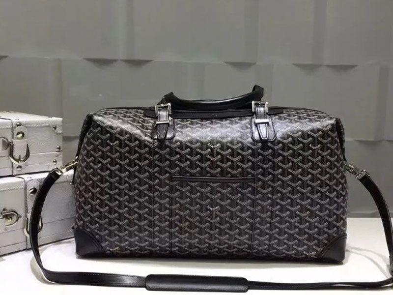 782da02920 Goyard Luggage Boeing Travelling Bag Black