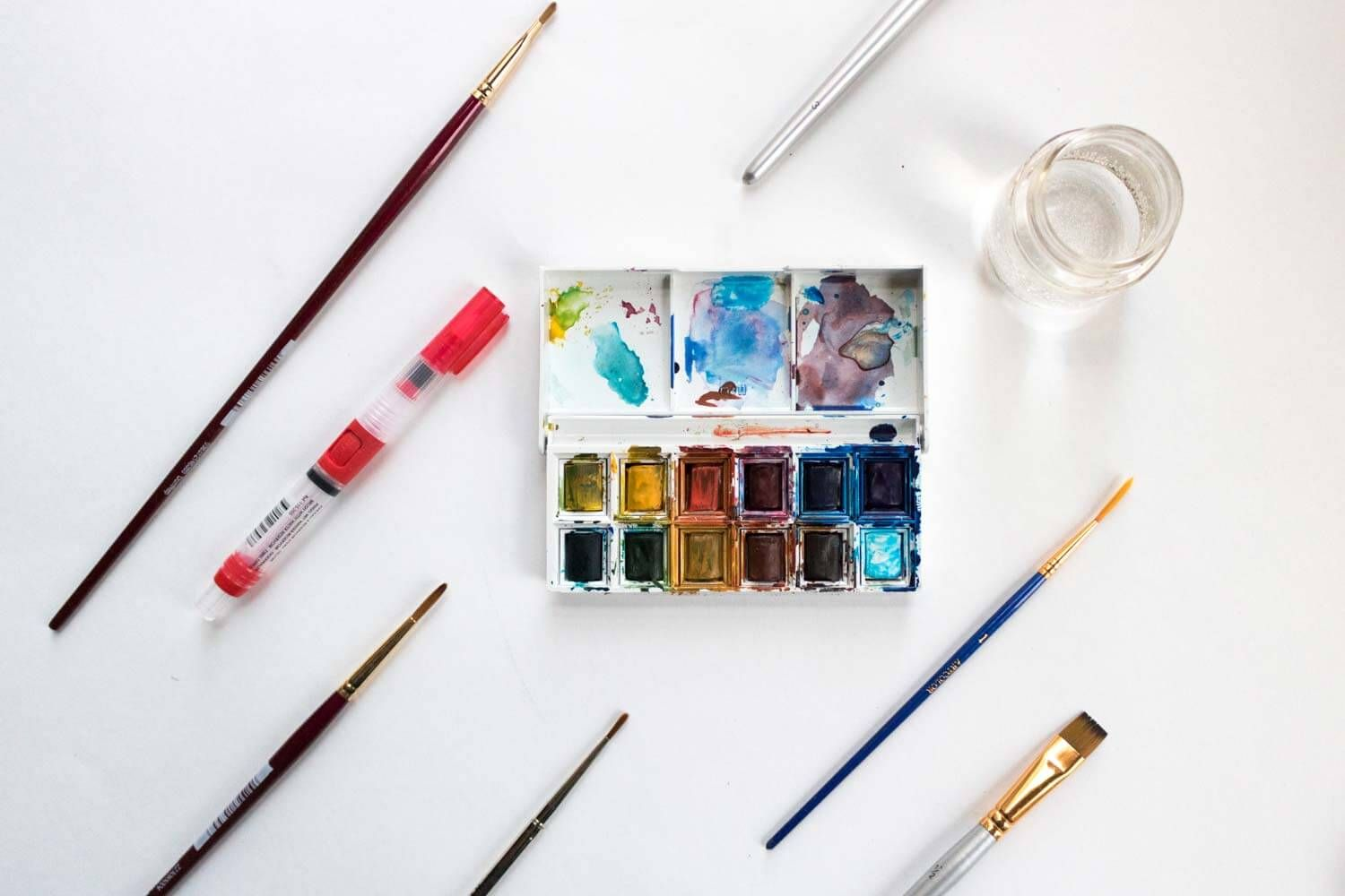 Best Watercolor Brushes For Beginners Beyond Best Watercolor