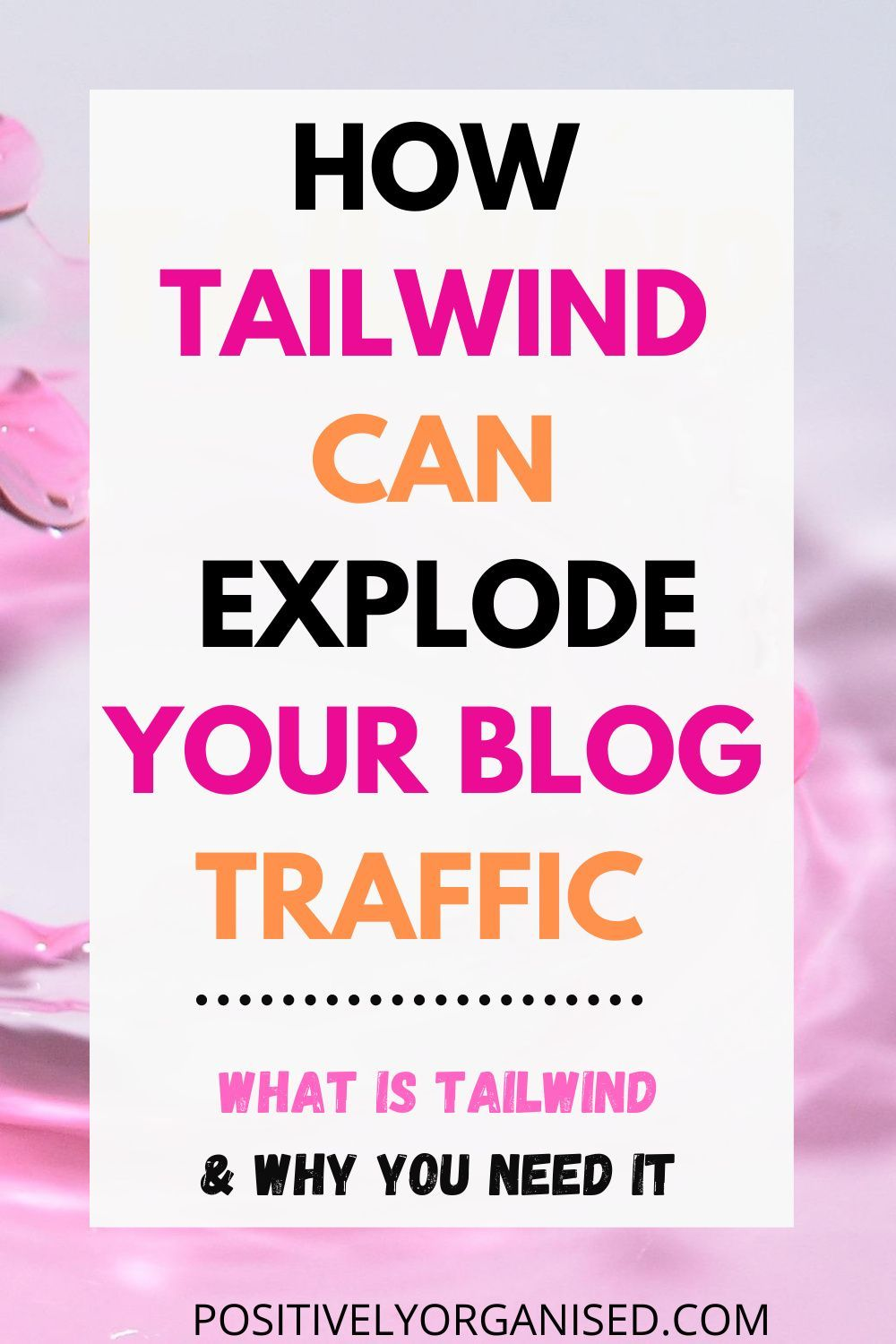 How To Use Tailwind For Pinterest To Explode Your Blog In 2020 Blog Traffic Increase Blog Traffic Pinterest For Business
