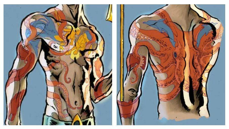 Aquaman Tattoo Design: Aquaman Redesign Concept Tattoo