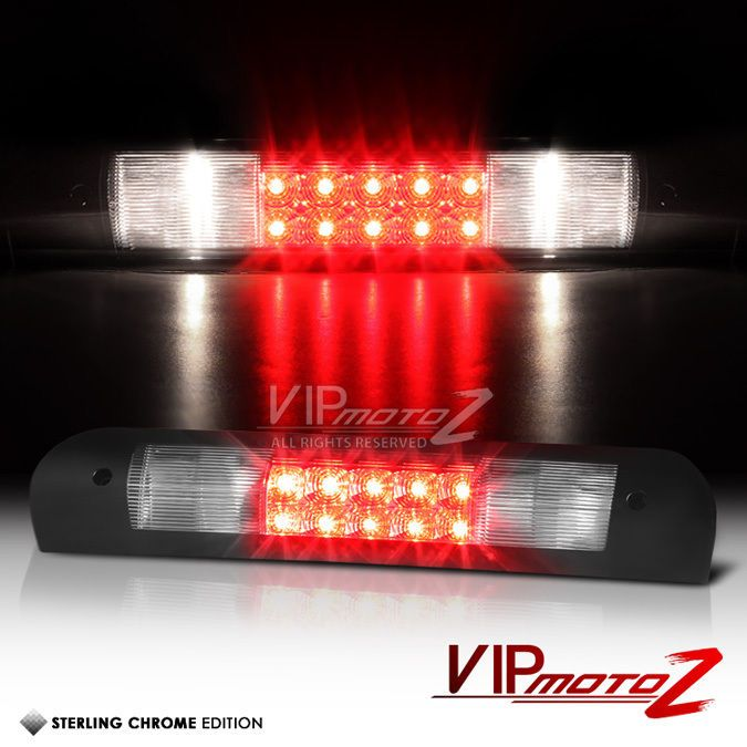 2002 2008 Dodge Ram 1500 2500 3500 Chrome Led Rear Third Brake Tail Lights Lamps Dodge Ram 1500 Dodge Ram Ram 1500