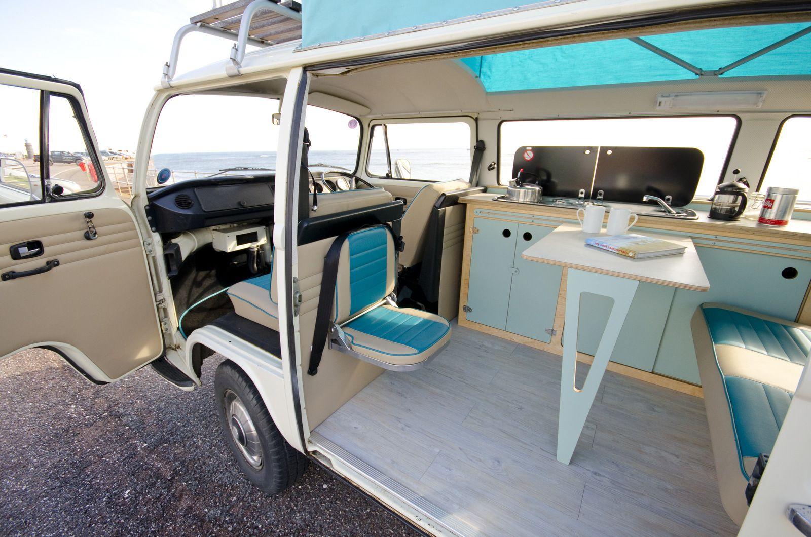 Vw camper buddy seat más t wv interier pinterest vw vans and