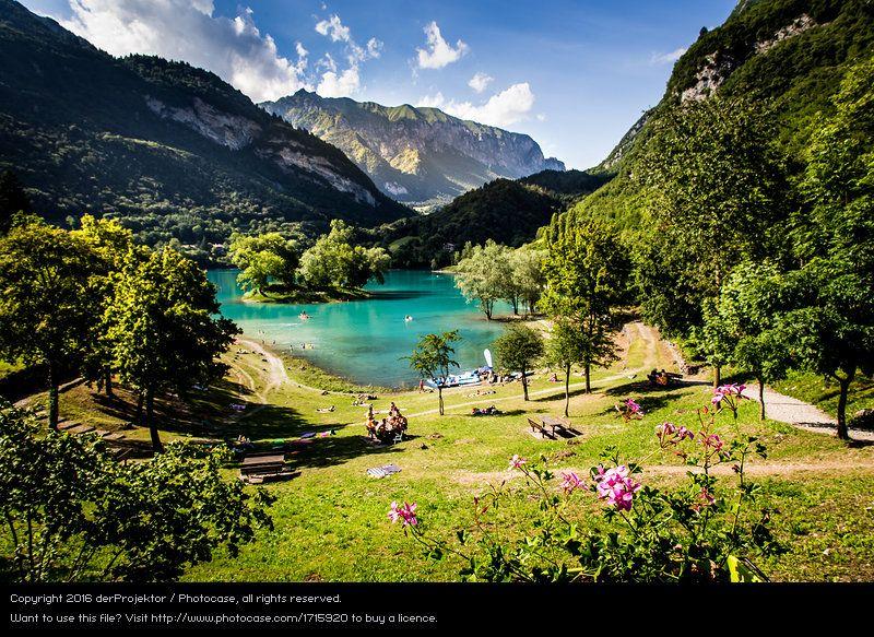 Foto 'Lago di Tenno in Italien' von 'derProjektor'
