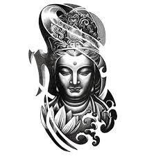 Risultati immagini per japanese tattoos buddha and wave