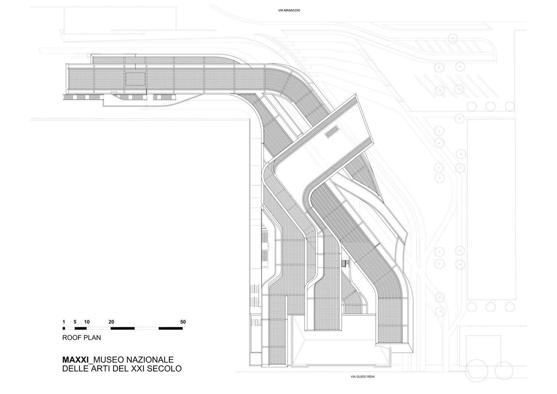 Gallery of MAXXI Museum / Zaha Hadid Architects - 21 | Zaha Hadid ...