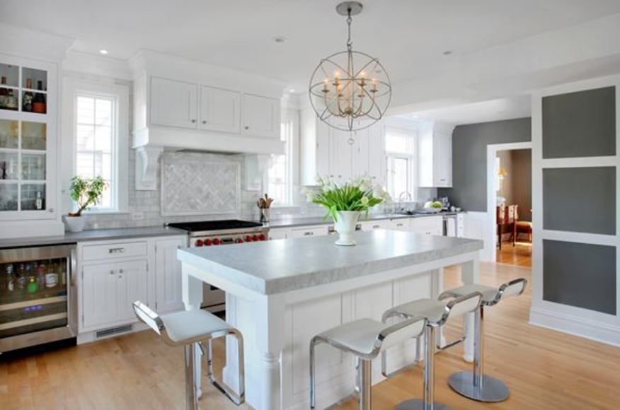 Connected, Open Kitchen Design In A Dutch Colonial Style | Remodeling |  Normandy Builders, Hinsdale, IL, Single Family, Renovation/Remodel,  Interiors, ...