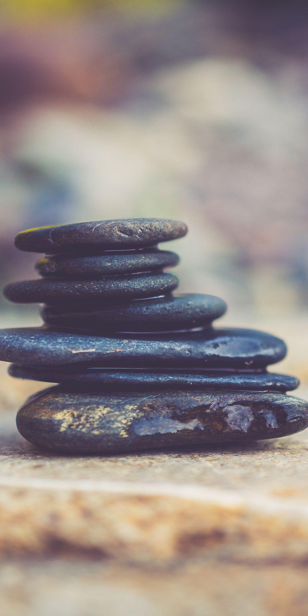 Zen Objects Balance Pebbles Rocks 1080x2160 Wallpaper Phone Backgrounds Wallpaper Zen
