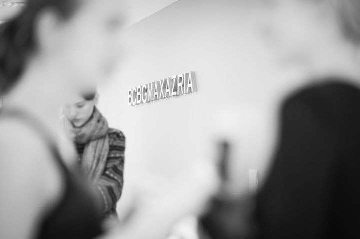 Behind-the-Scenes at the BCBGMAXAZRIA Fall 2013 casting. #BCBG #BCBGMAXAZRIA #BTS #runway #fall2013 #behindthescenes