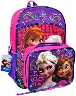 Disney Frozen Backpacks And School Supplies Disney Princess Frozen Frozen Elsa And Anna Backpacks