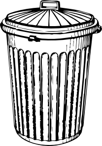 Trash Can Clip Art Can Clipart Trash Trash Can