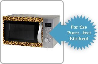 Medium image of image gallery leopard print kitchen accessories