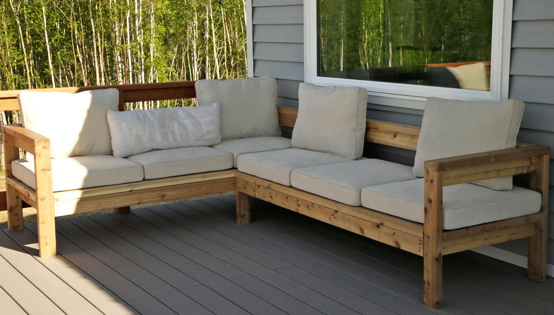 RYOBI NATION   Outdoor Sofa Sectional Piece