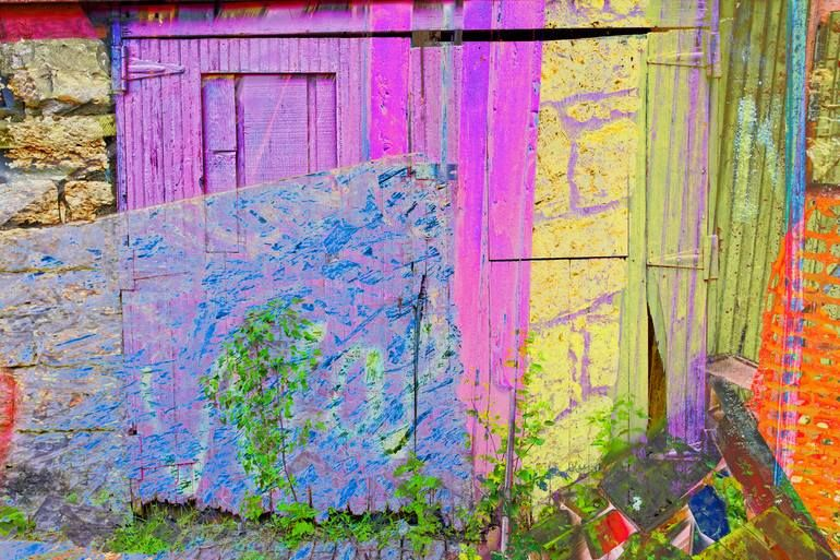 Original Art Color/Manipulated/Digital Photography, measuring: 90W x 64H x 6D cm, by: Christopher Paul Brown (United States). Styles: Fine Art, Expressionism, Surrealism. Subject: Wall. Keywords: Colorful, Yellow, Bright, Bold, Hockney, Perspective, Pink. This Color/Manipulated/Digital Photography is one of a kind and once sold will no longer be available to purchase. Buy art at Saatchi Art.