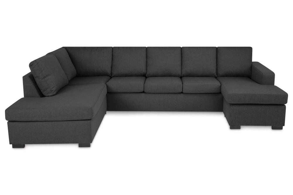 New York U Sofa Xl Divan Hoyre Antrasitt Sofaer Sofa Og Leilighet