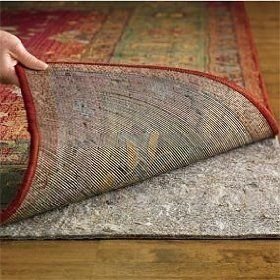 5 X7 Msm Duo Lock Reversible Felt And Rubber Rug Pad For Hard Floors Carpet Includes Rpfl Tm Rug And Pad Care Guide By M Rubber Rugs Rug Pad Area Rug Pad