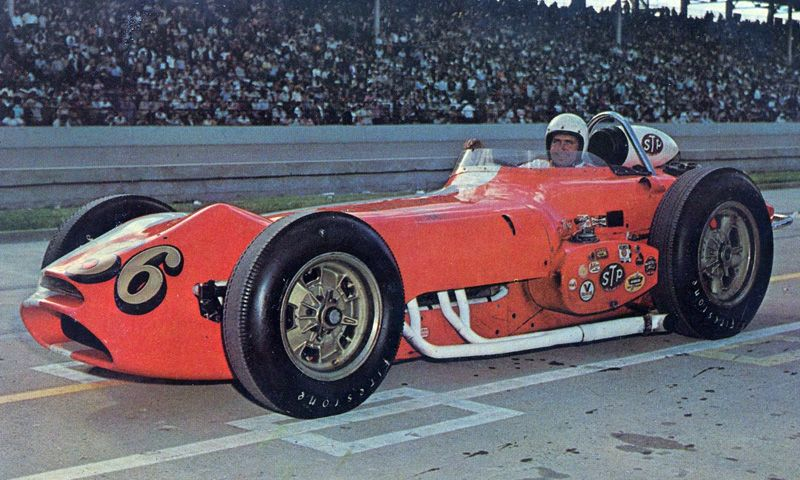Jim Hurtubise 1963 Novi Power Classic Indy Car