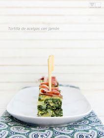 Al Calor del horno: Tortilla de acelgas y jamón serrano [ cocina al vapor]