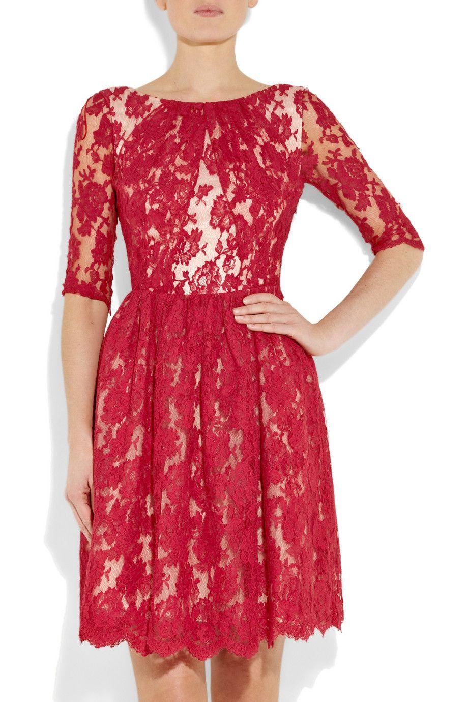 My Favorite Red Erdem Dress