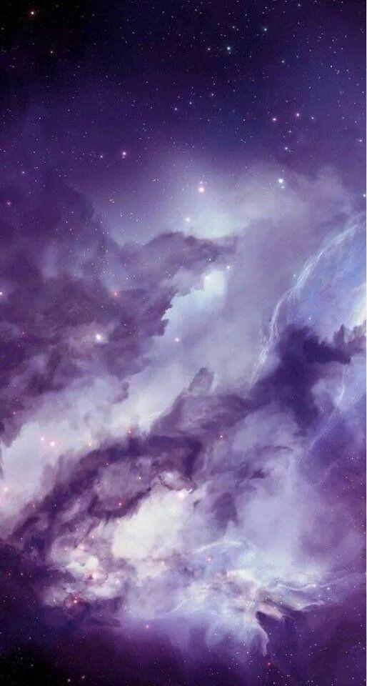 Purple Haze Space In 2018 Iphone Wallpaper Galaxy Wallpaper