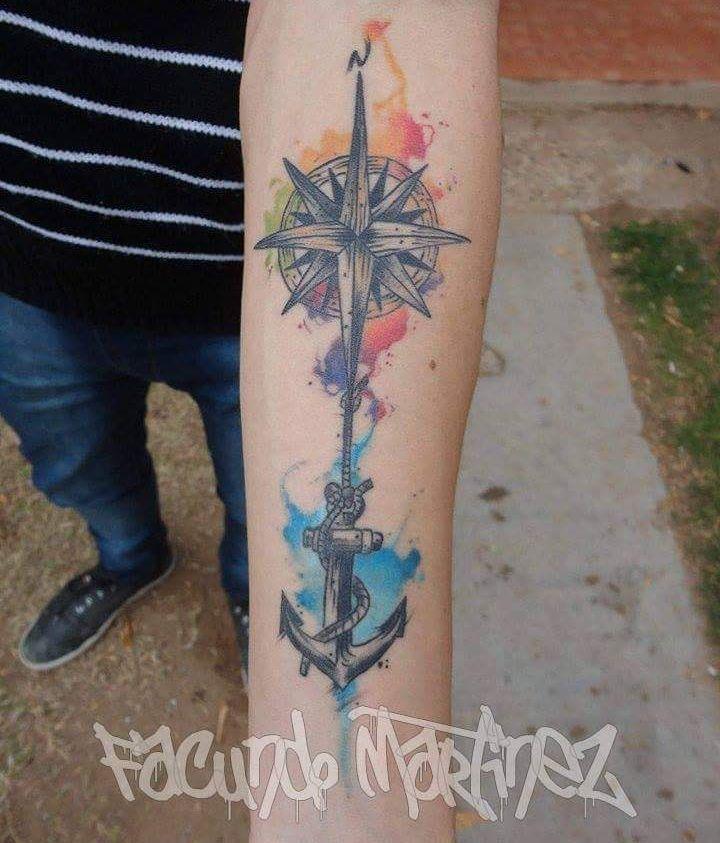 tattoo curado!  si queres tatuarte conmigo podes contactarte vía Facebook  #watercolortattoo #tattoo #bangbangtattoo #magazinetattoo by facundomartinez.88
