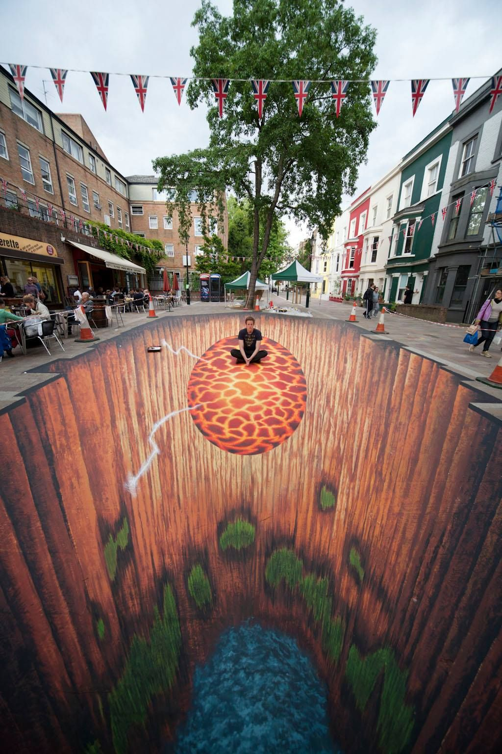 20 amazing 3d street art illusions that will play tricks