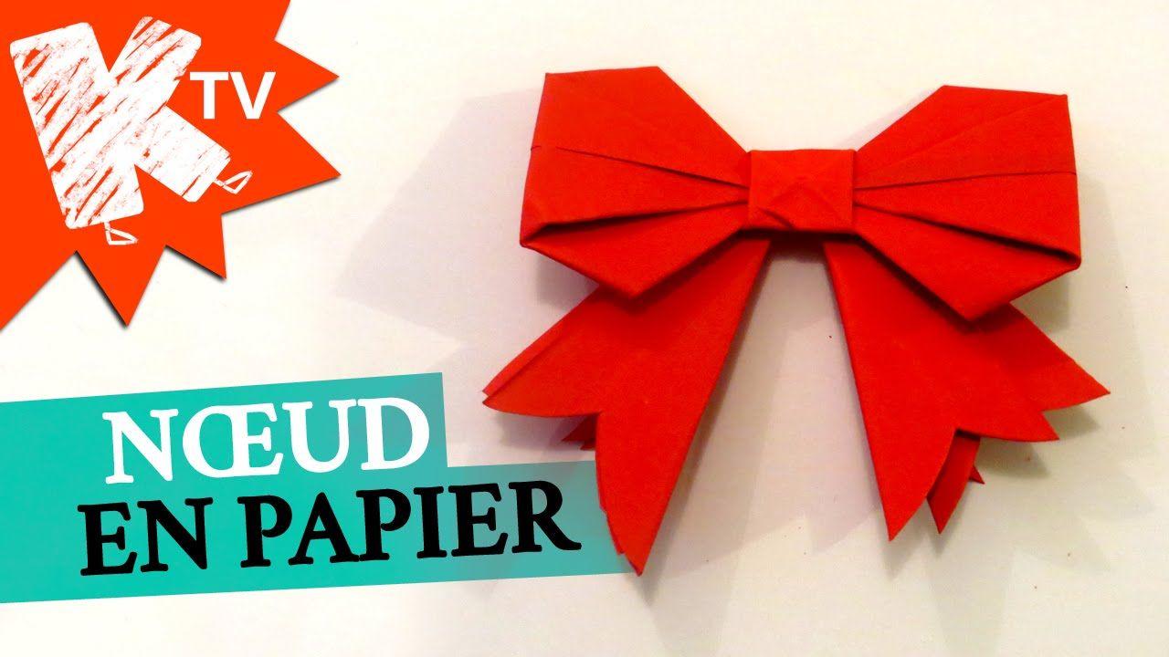 Noeud en papier origami facile diy pinterest enfant origami et comment - Origami en papier facile ...