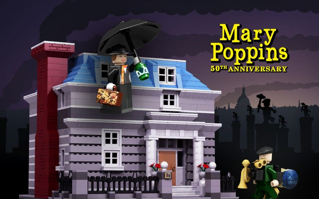 Help Make This 50th Anniversary 'Mary Poppins' LEGO Set a Reality ...
