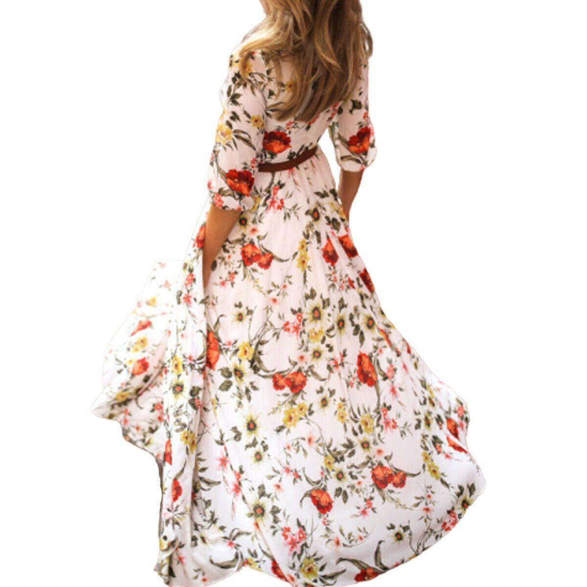 Opperiaya Women Vintage Floral Long Casual Long Sleeve Maxi Dress Walmart Com In 2021 Long Sleeve Maxi Dress Maxi Dress With Sleeves Maxi Dress [ 1200 x 1200 Pixel ]