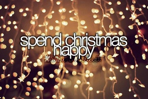 Its been a while since I've been happy at christmas, just with my depression and all