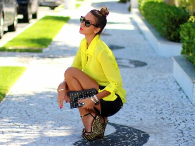 yelow black