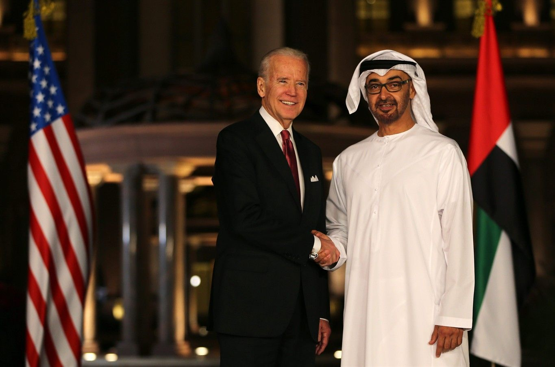 Joe Biden, the U.S. Vice Presid… Dubai city, Sheikh