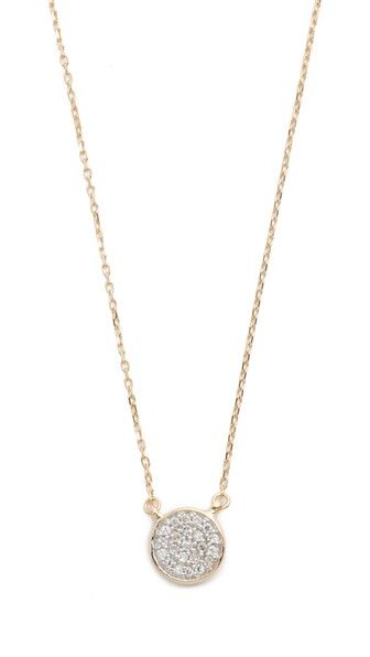 Adina Reyter 14k Gold Small Opal & Diamond Teardrop Pendant Necklace zaxV89S