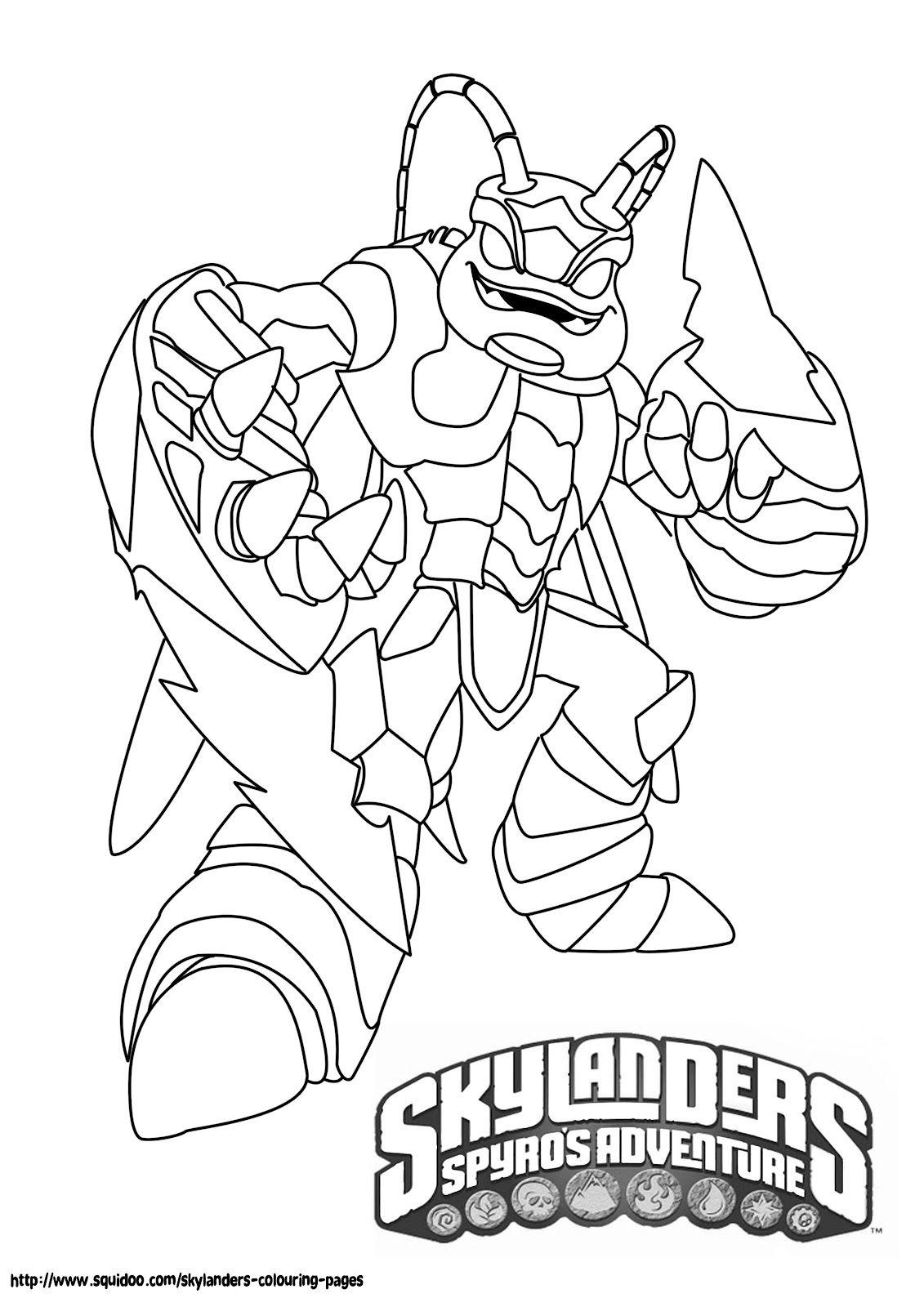 Skylanders+swarm+coloring+pages.jpg 1,131×1,600 pixels | Slylander ...