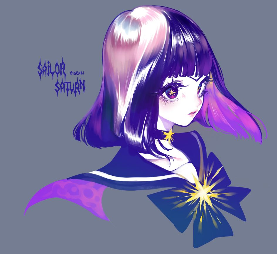 Sailor Saturn by Pigeon666