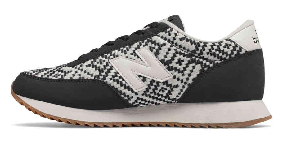 New Balance 501 Ripple Sole, Black with