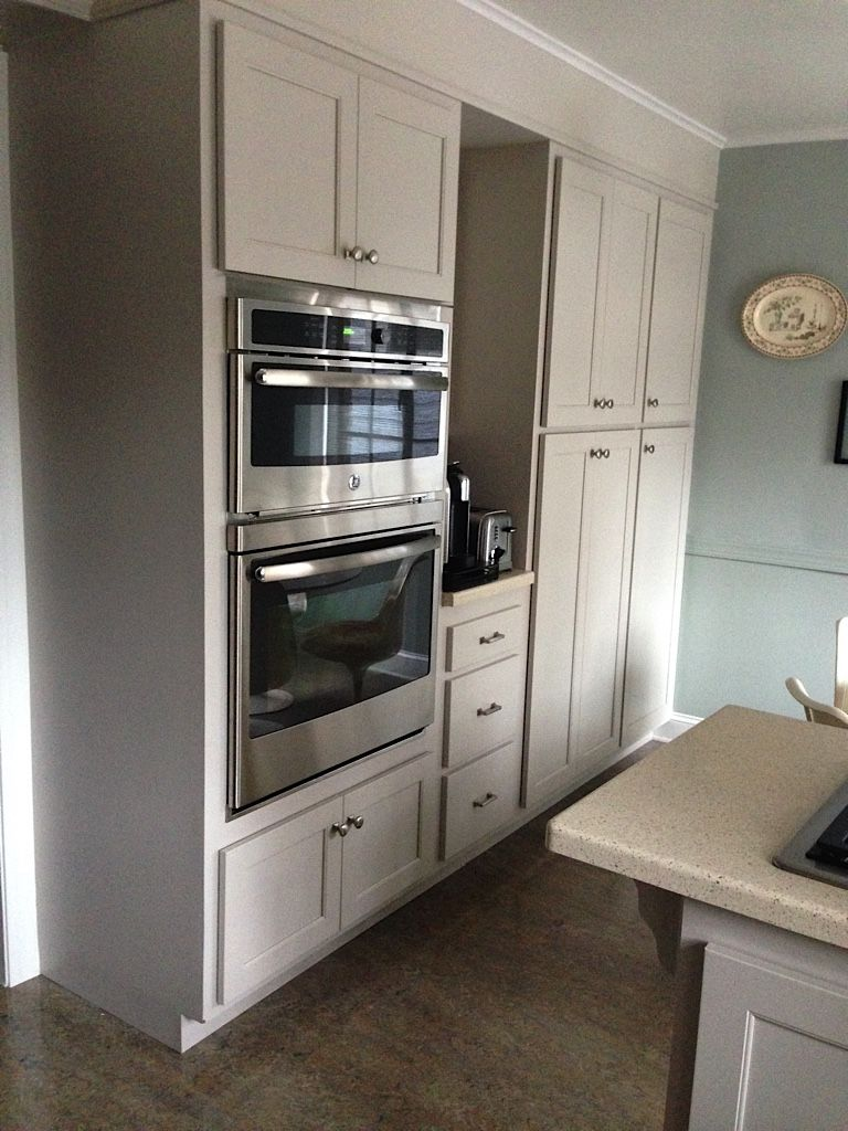Martha Stewart Sharkey Gray Cabinets Through Home Depot This Will Be Our Kitchen Cabinet Colors