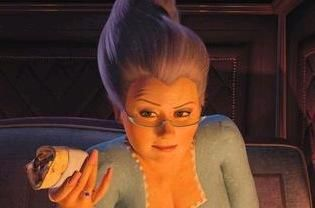 Fairy Godmother Shrek 2 Female Villains Fairy Godmother Shrek