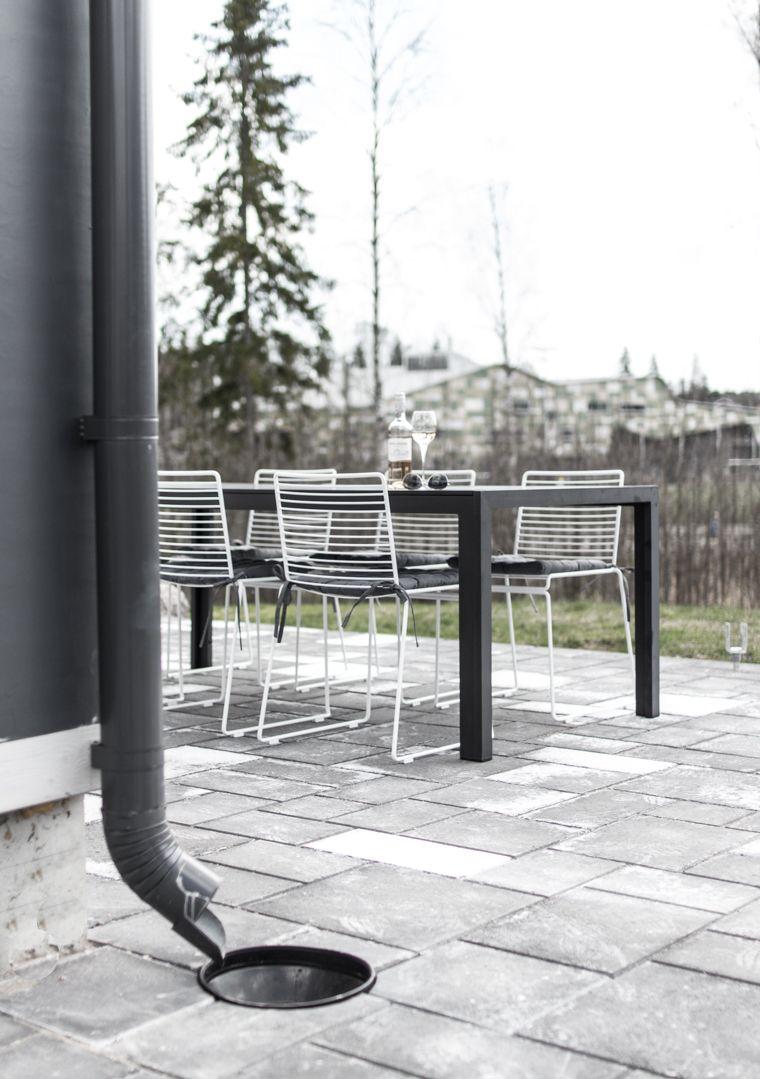 Hay Hee Chairs | modern terrace | lisbet e.
