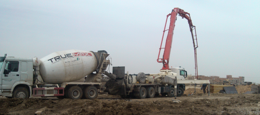 Truck Mounted Boom Pump Concrete Truck Mixer Concrete Truck Concrete Mixers Mixer Truck