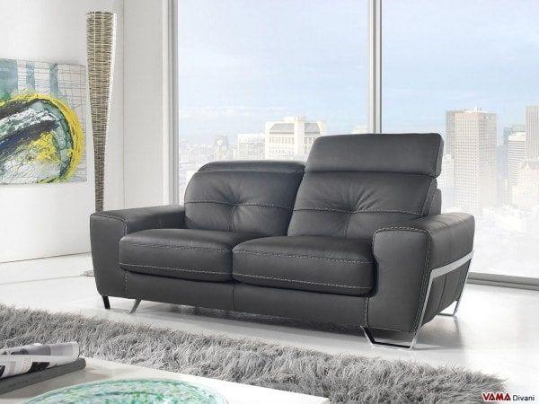 divano due posti moderno Robusto